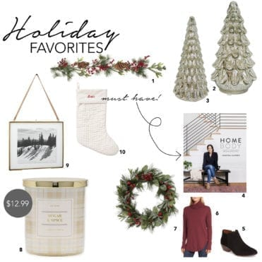 Shopping our Holiday Favorites